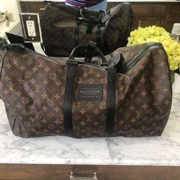 c7c9424370 Louis Vuitton Handbags - Louis Vuitton Waterproof Keepall 55